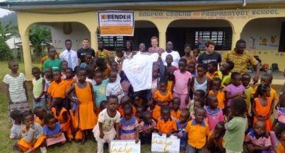 Bingel und Horne mit Engagement in Ghana