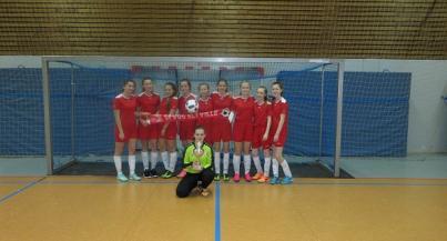 C-Juniorinnen holen den Siegerpokal aus Egelsbach
