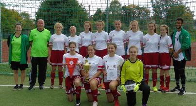 B-Juniorinnen holen den Kreispokal gegen TSV Bleidenstadt