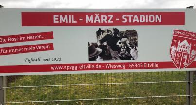 Einweihung des Emil März Stadions am kommenden Sonntag